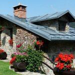 doğal taş mimarisi ile ev görünümleri