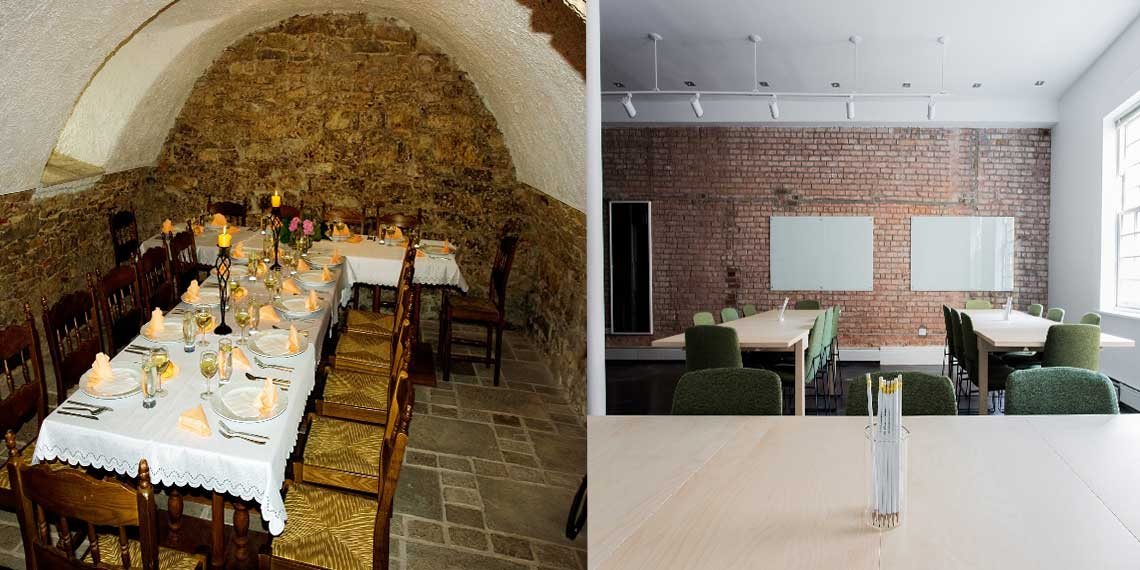 şık ve modern görüntüsüyle taş duvar